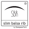 SBR vékony balsafa bordázat