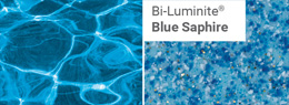 Bi-Luminite Blue Saphire